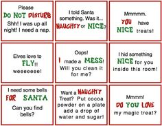 Elf on the Shelf Ideas: Download Free Message Signs for Your ElfOrganic Living for a Healthy Family