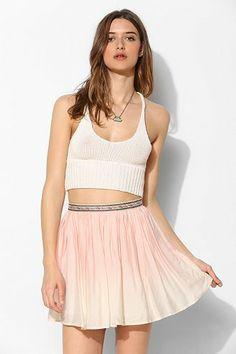Ecote Dip-Dye Mini Skirt - Urban Outfitters