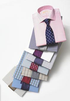 Shirts + Ties #menswear #shirts #ties #gentlemen #fashion