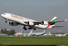 Emirates A6-ERI Airbus A340-541 aircraft picture