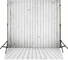 White Wood Studio Photography Backdrops Retro Wooden Background For Newborn Photography studio J01771