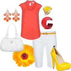 Summer Time Fun, created by chrome745 on Polyvore