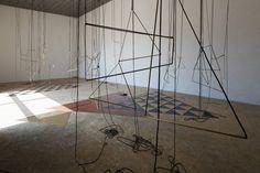 Leonor Antunes,discrepancies with M.G, 2011.Museo El Eco, Mexico