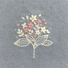 Embroidery, simple use of colour
