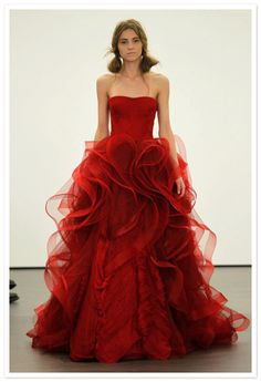 just put on that red dress....