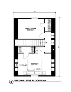 **Small Cabin Plans (2nd floor)**