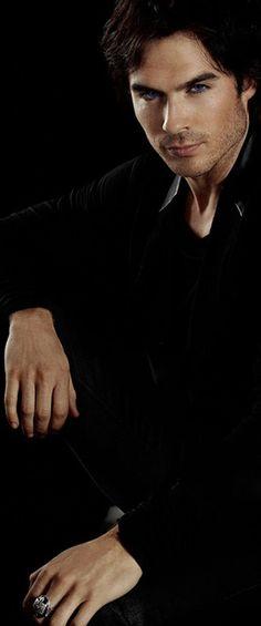 Ian Somerhalder as Damon Salvatore - The Vampire Diaries