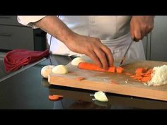 Kochen lernen per Video - Schnitttechniken
