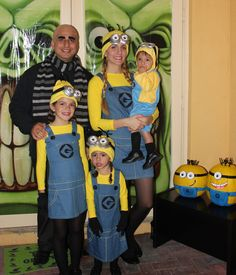 Minions and Gru Family Costumes.You can find Family costumes and more on our website.Minions and Gru Family Costumes.