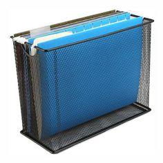 Buy Mind Reader File Storage Box/Basket for Letters, Legal Documents, Filing Documents, Folders, Office Organizer