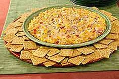 Hot 'N Spicy Corn Dip - half it and making it a side dish! Made several times for parties and finger food nights.