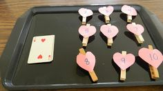 Valentine math activity for kids