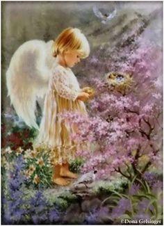 Angel in the Garden  * Dona Gelsinger