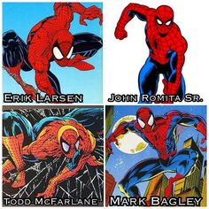 Who are your favorite Spider-Man comic artists?  Mine have always been Todd…