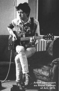 Mick Jones (June 26, 1955) American guitarist and singer o.a. known from the band The Clash.