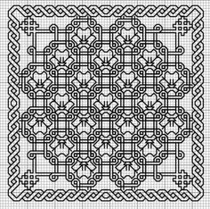 Link to a Russian site that can be translated using Google Chrome with several blackwork patterns.