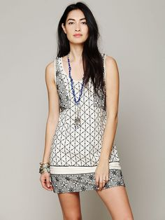 Free People Byzantine Empress Shift at Free People Clothing Boutique