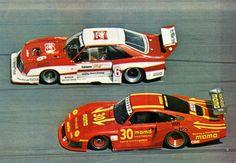 Zakspeed Ford Mustang and Porsche 935 81 MOMO - IMSA GTX