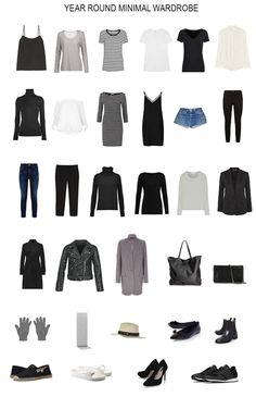 A minimalist capsule wardrobe for the entire year. How I built a minimal 32 piece wardrobe that serves me all year | minimalist fashion | minimal style | capsule wardrobe | year round capsule wardrobe | simple living