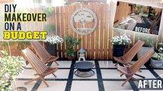 Diy Patio, Backyard Patio, Patio Flooring, Patio Makeover, Outdoor Furniture Sets, Outdoor Decor, New Homes, Backyards, Home Decor