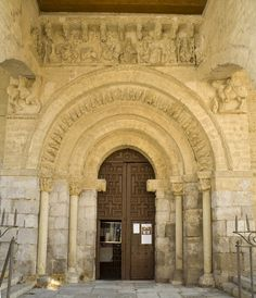 Medieval doorway to the cathedral at Carrion de los Condes.