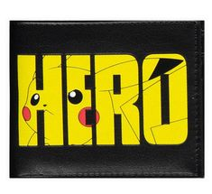 Pokemon Pikachu Olympics Hero Bi-fold Wallet