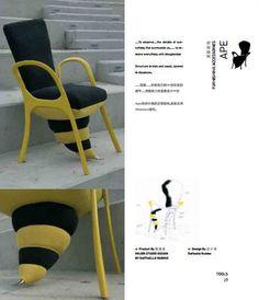 APE #design #chair #bee