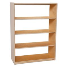 "Wood Designs Natural Environment 48"" Standard Bookcase"
