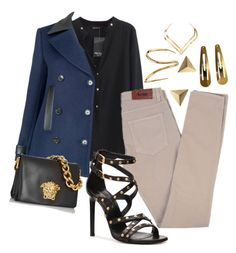 """""""Madrid"""" by fullmoonandstars on Polyvore featuring Mode, Acne Studios, Yves Saint Laurent, Charlotte Chesnais, Jaeger, Versace, Maria Black, Witchery und TomTom Jewelry"""