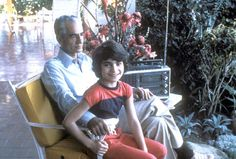 Mohammad Reza Shah and daughter Leila in Panama,1979.