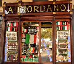 A Giordano Chocolatier in Turin - Turin is THE place for chocolate in Italy!