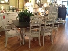 Country Dining Sets european paint finishes: french provincial dining set ~ | painted