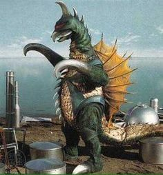 Cool Monsters, Classic Monsters, King Kong, Godzilla Vs Gigan, Giant Monster Movies, Space Ghost, Japanese Monster, Love Monster, Monster Mash