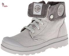 Palladium Baggy Zipper Vapor/Metal - enfant (garçon ou fille) - Gris - Grau (VAPOR/METAL 095), 32 EU - Chaussures palladium (*Partner-Link)