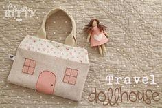 Countrykitty: Uma casa de bonecas de viagem muito especial