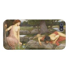 Echo and Narcissus by John William Waterhouse Cases For iPhone 5