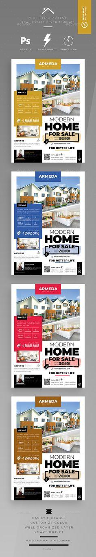 #Real #Estate #Flyer - Commerce Flyers