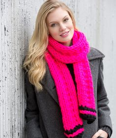 Easy Knit Scarf