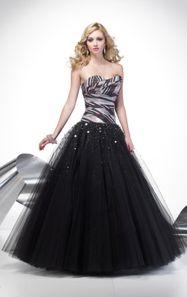 Fierce black gown