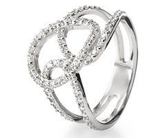 Srebrny pierścionek - 58134