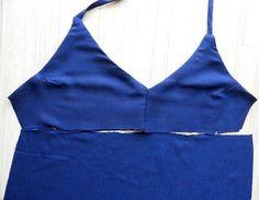 Spaghetti Strap Dress - Free Sewing Pattern & Tutorial - Sew Guide Sewing Patterns Free, Free Sewing, Sewing Tutorials, Dress Sewing Patterns, Sewing Ideas, Spaghetti Strap Dresses, Diy Dress, Sewing Techniques, Women's Fashion