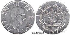 2 Lire: Valore, Curiosità e Rarità delle Monete da 2 Lire Italiane   MoneteRare.net Lus, Coins, Personalized Items, Italian Lira, Europe, Rooms