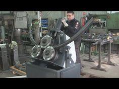 Drehbar Profilbiegemaschinen , Turnable Section Roller , Vălţuitor de profile , Profilhengerítő - YouTube