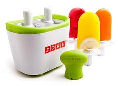 This is nifty! I would like to make super healthy ice pops in 7 minutes!