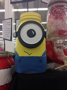 Minion jar!!!
