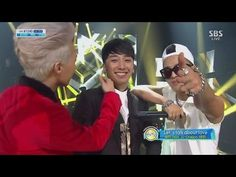 Taeyang <3<3<3<3  2:12-3:05 - sooooo white hot XD !!!!!!!  And I LOVE both of these songs!!!!  ▶ SEUNGRI_0915_SBS Inkigayo_LETS TALK ABOUT LOVE+할말있어요 - YouTube Victory, GD and Tae-so daebak