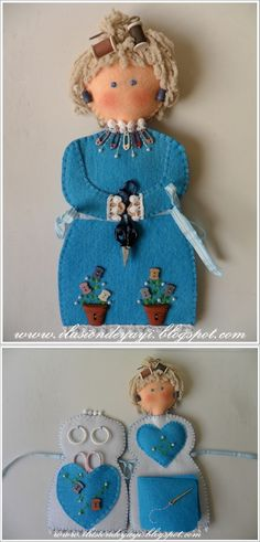 TUTORIAL: Muñeca - Costurero.  Sewing Doll