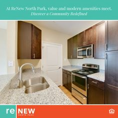 Are you looking for an apartment that has both value and modern amenities? Look no further than ReNew North Park! Come visit us and tour our one and two bedroom floor plans.
