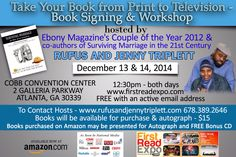 Book Signing & Workshop in Atlanta