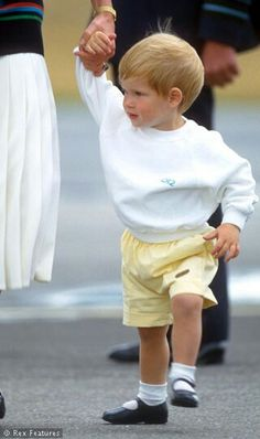 Prince Harry; arriving, with his parents, in Scotland for their Balmoral holiday.
